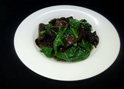 木耳菜炒木耳