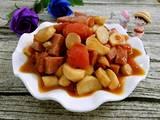 番茄杏鲍菇炒香肠的做法[图]
