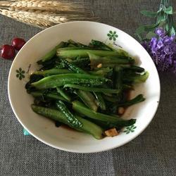 豆鼓油麦菜