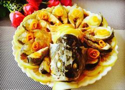 清蒸柠檬鲈鱼