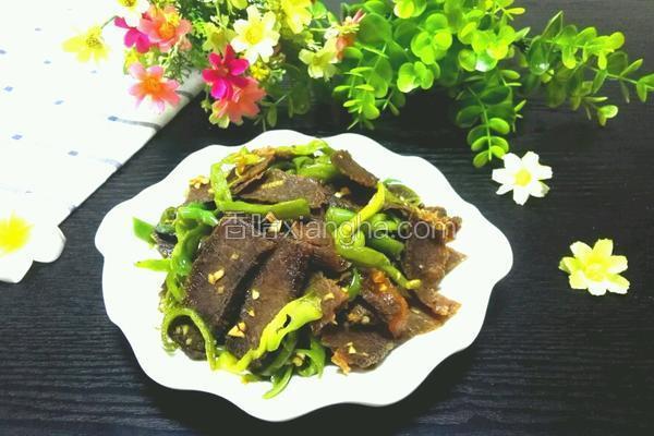 青椒炒卤牛肉
