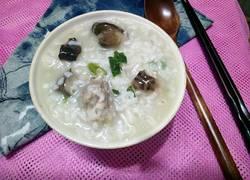 香菇鸭肉粥
