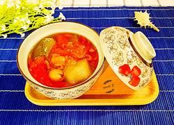 虾米冬瓜西红柿汤