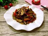 蘑菇炒牛肉的做法[图]