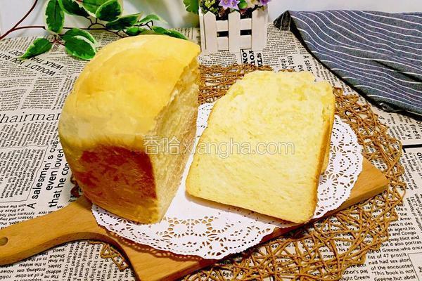 面包机椰蓉面包
