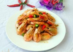 辣炒小红虾