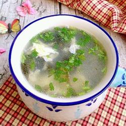 鸡蛋紫菜汤的做法[图]