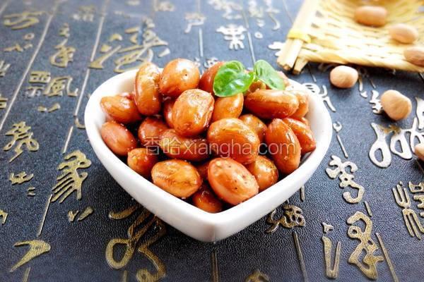 椒麻油酥花生米