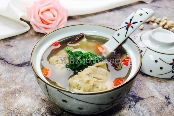 香菇排骨汤煲