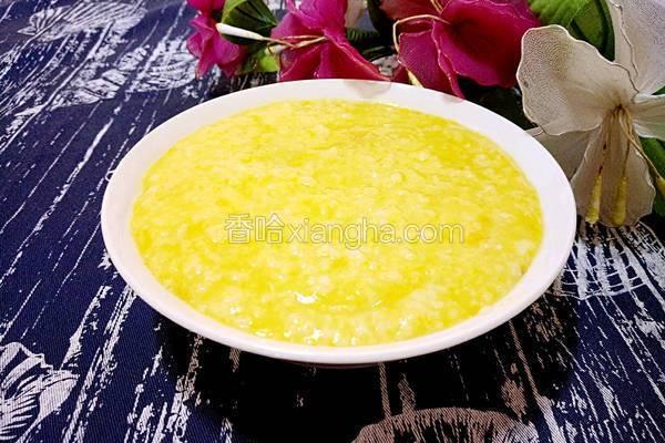 南瓜粥(电饭煲版)