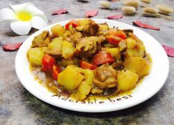 咖喱鸡块土豆