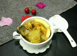 虫草花椰子老鸡汤