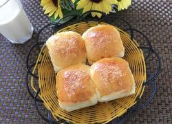 淡奶油椰蓉餐包(一次发酵法)