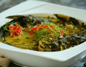 雪菜黄颡鱼[图]