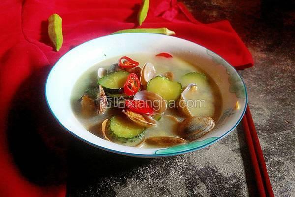 蛤蜊黄瓜汤