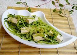豌豆苗烩豆腐
