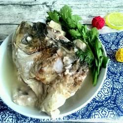 砂锅鱼头冻豆腐煲