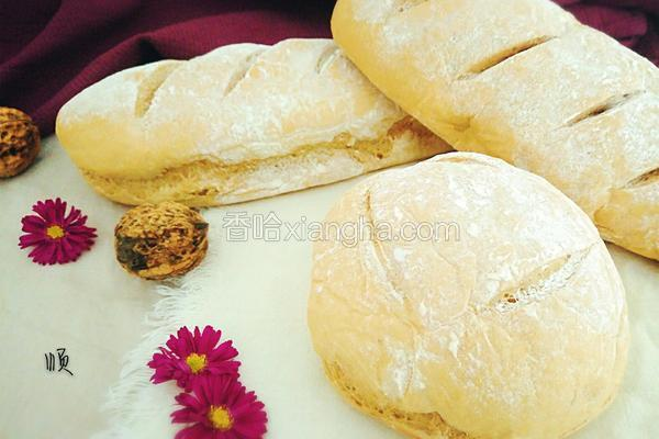 山药核桃面包