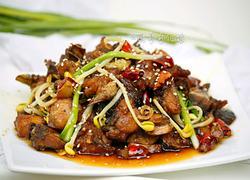 干锅香菇鸡