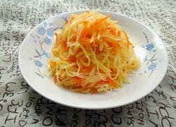 土豆丝胡萝卜丝