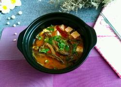 沙锅泥鳅炖豆腐