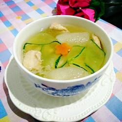 玉带竹荪鸡汤