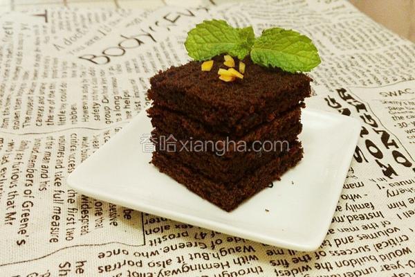 香醇巧克力蛋糕