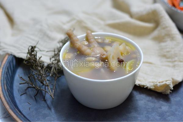 花生凤爪汤