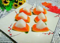 木瓜椰子冻
