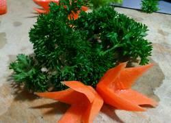 红萝卜最简单的雕花