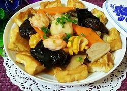八珍豆腐煲