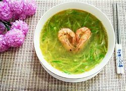 萝卜丝竹节虾汤