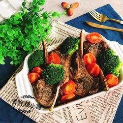 法式烤羊排