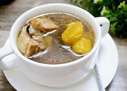 粟子煲鸡汤