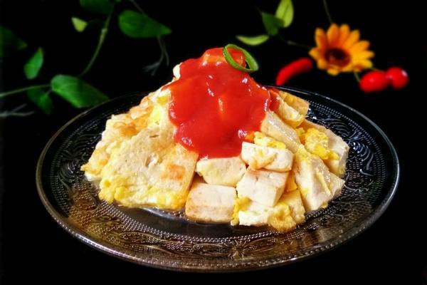 嫩豆腐鸡蛋