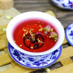 玫瑰洛神茶