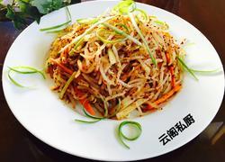韩式豆芽凉拌菜