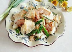 咸肉炒豆丝