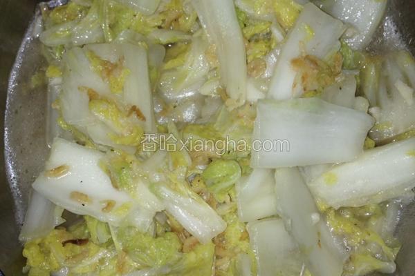 虾皮炒大白菜