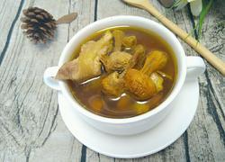 巴西菇炖土鸡