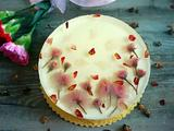 樱花镜面芝士蛋糕的做法[图]