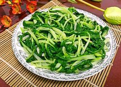 蒜泥炒小青菜