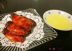 柠檬叉烧鸡翅