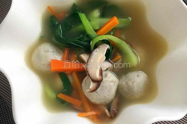 马鲛鱼丸汤