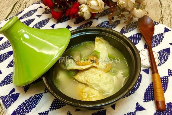 蛋饺丝瓜汤