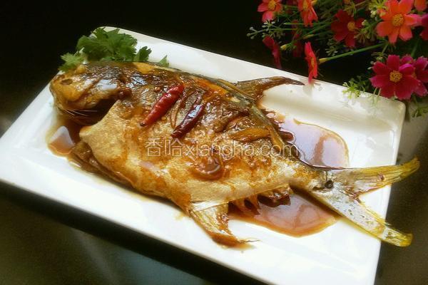 红烧金小麦的孕妇_鲳鱼_香哈网做法能吃菜谱燕麦片吗图片