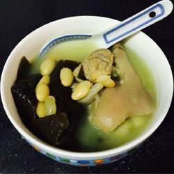 海带芸豆猪手汤