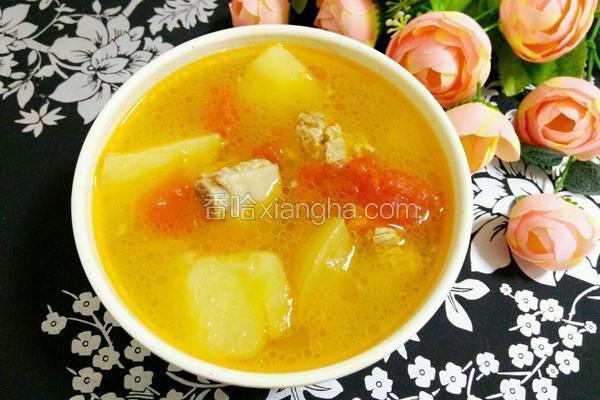 蔬果排骨汤