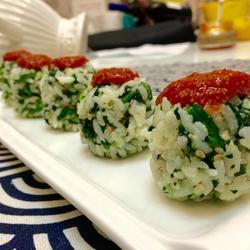 鱼子酱饭团