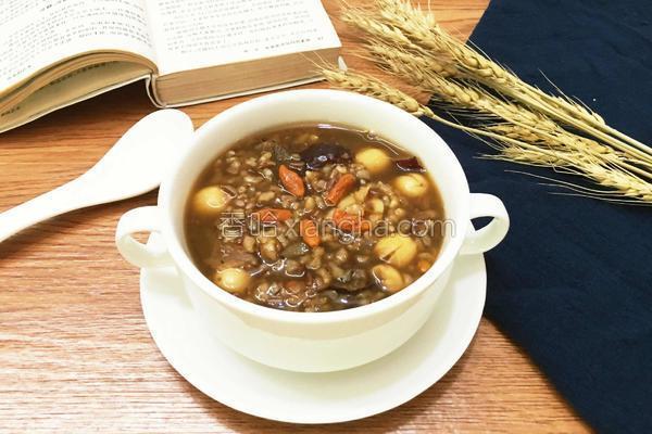 红枣红米补血养颜粥